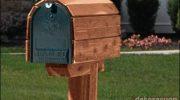 Ahşap Posta Kutusu Modelleri